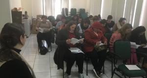PREFEITURA MUNICIPAL PROMOVE CURSO SOBRE BOAS PRÁTICAS DE MANIPULAÇÃO DE ALIMENTOS.