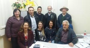 Comitiva visita prefeito de Coronel Pilar