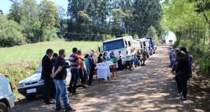 INÍCIO DA OBRA DE PAVIMENTAÇÃO ASFÁLTICA ENTRE AS COMUNIDADES DE LINHA SÃO JOSÉ A LINHA CRUZEIRO