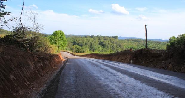 PAVIMENTAÇÃO ASFÁLTICA ENTRE AS COMUNIDADES DE LINHA SÃO JOSÉ À LINHA CRUZEIRO