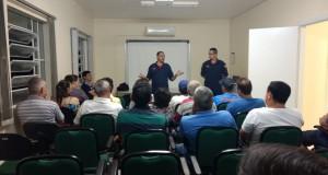 PALESTRA: ORIENTAÇÃO PARA REGULARIZAÇÃO DO ALVARÁ DOS BOMBEIROS NOS ESTABELECIMENTOS.