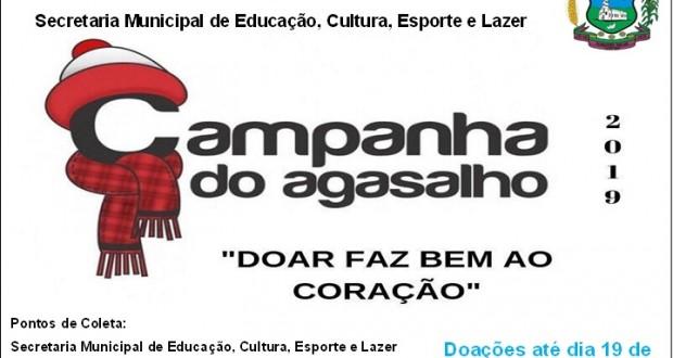 Campanha do Agasalho  2019.