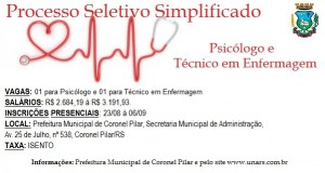 PROCESSO SELETIVO Nº002/2019