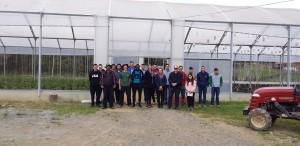 Alunos do IFRS de Bento Gonçalves visitam propriedade em Coronel Pilar