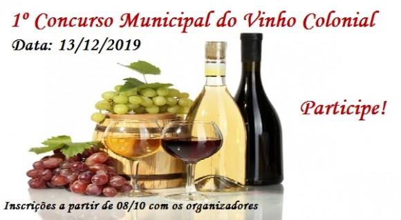 1º Concurso Municipal  do Vinho Colonial