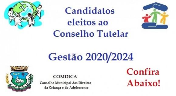 Candidatos Eleitos