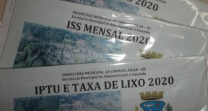 IPTU, TAXA DE LIXO E ISSQN