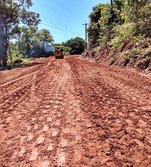 Pavimentação – Linha 90